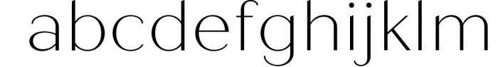 Quiche Sans Font Family Font LOWERCASE