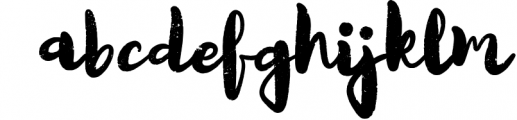 Quicksliver Handdrawn Brush Font LOWERCASE