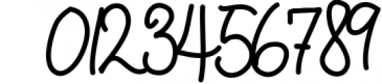 Quincy Adams - A Sweet Hand Written Font 2 Font OTHER CHARS