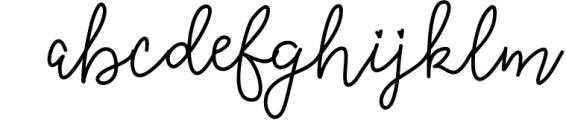 Quincy Adams - A Sweet Hand Written Font 2 Font LOWERCASE