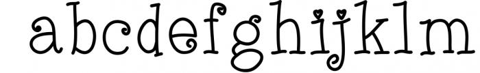 Quincy Adams - A Sweet Hand Written Font 3 Font LOWERCASE