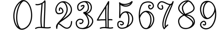 Quincy Adams - A Sweet Hand Written Font Font OTHER CHARS