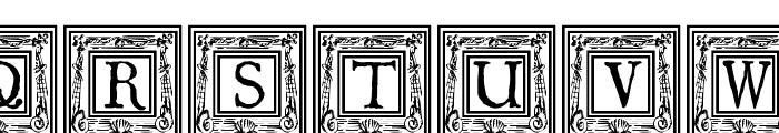 QuaNauticale_Initials_No1 Font UPPERCASE