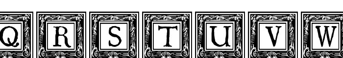 QuaNauticale_Initials_No2 Font UPPERCASE