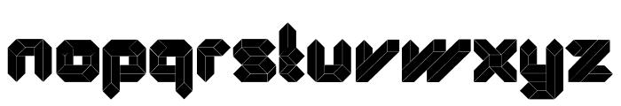 Quad-Ultra Font UPPERCASE