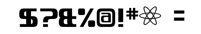 Quadaptor-Regular Font OTHER CHARS