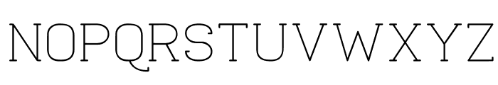 Quadlateral Font UPPERCASE