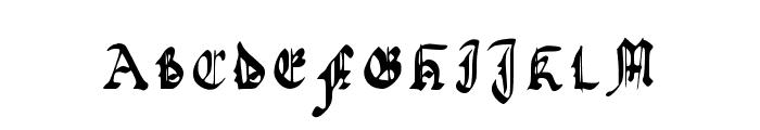 Quadrata Preciosa Extended Font UPPERCASE