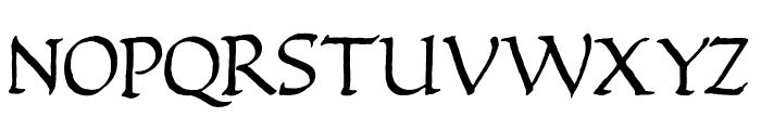 Quadrata Font UPPERCASE