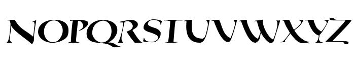 QuadrataRoma-MediumOblique Font LOWERCASE