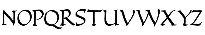 Quadrata Font LOWERCASE