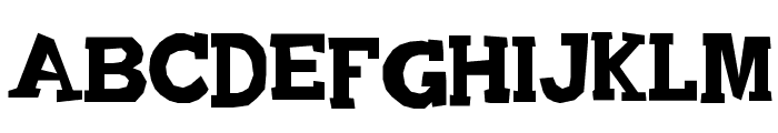 Quadrophonic Font UPPERCASE