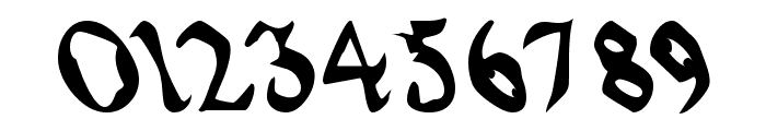 QuaelGothicLefty Font OTHER CHARS