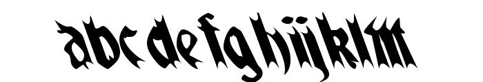 QuaelGothicLefty Font LOWERCASE