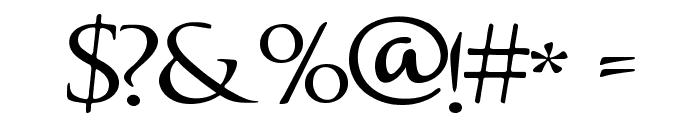 QuagentRegular Font OTHER CHARS