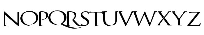 QuagentRegular Font UPPERCASE
