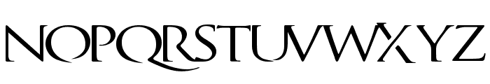 QuagentRegular Font LOWERCASE