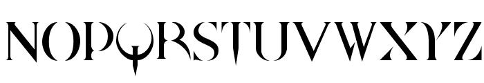 Quake Cyr Font UPPERCASE
