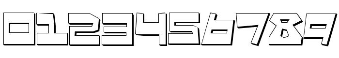 Quake & Shake 3D Font OTHER CHARS