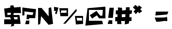 Quake & Shake Max Font OTHER CHARS