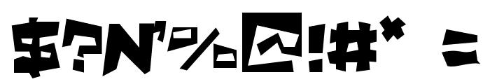 Quake & Shake SuperMax Font OTHER CHARS