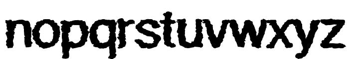 Quaky Font LOWERCASE