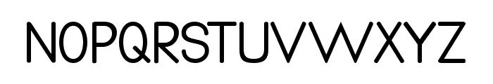 Qualio Font UPPERCASE
