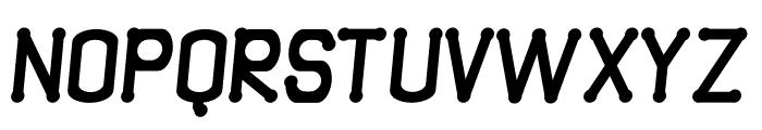 Quamaine Italic Font UPPERCASE