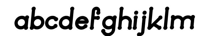 Quamaine Italic Font LOWERCASE