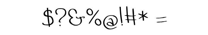Quand tu dors ... Medium Font OTHER CHARS