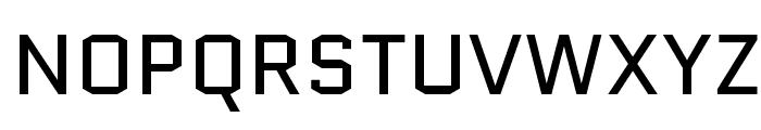 Quantico-Regular Font UPPERCASE
