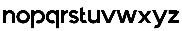 Quantify-Bold Font LOWERCASE