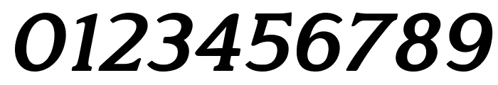 Quantik Bold-Italic Font OTHER CHARS
