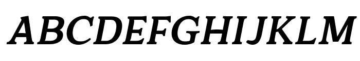 Quantik Bold-Italic Font UPPERCASE