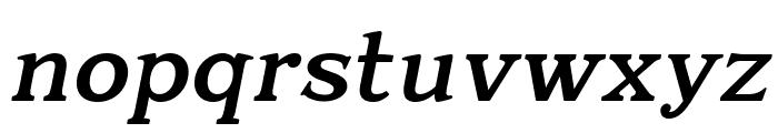 Quantik Bold-Italic Font LOWERCASE