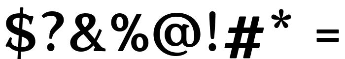 Quantik Bold Font OTHER CHARS