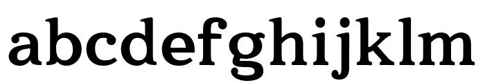 Quantik Bold Font LOWERCASE