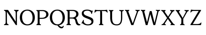Quantik Regular Font UPPERCASE