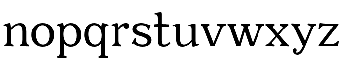 Quantik Regular Font LOWERCASE