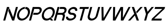 Quantum Italic Font LOWERCASE