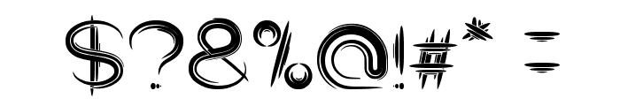 Quantum Leap Font OTHER CHARS