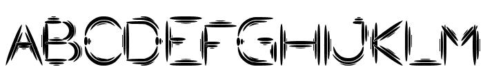 Quantum Leap Font UPPERCASE