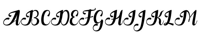 Quantum art design Font UPPERCASE