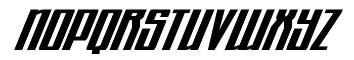 Quantum of Malice Condensed Italic Font UPPERCASE