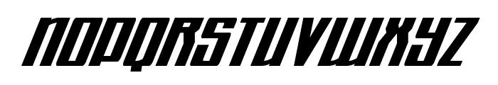 Quantum of Malice Condensed Italic Font LOWERCASE