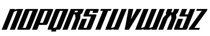 Quantum of Malice Drop Italic Font UPPERCASE