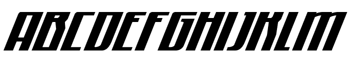 Quantum of Malice Half-Drop Italic Font UPPERCASE
