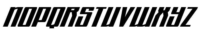 Quantum of Malice Italic Font UPPERCASE