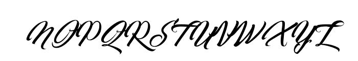 Quantum of Mechanic Font UPPERCASE