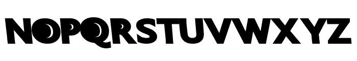 QuantumFuture Font UPPERCASE
